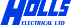 Holls Electrical Retina Logo